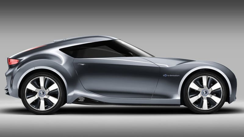 The Nissan Esflow Concept from 2011. Not a new Z, although it doesn't look bad.