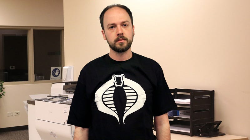 Illustration for article titled Man Wearing Cobra Command Shirt Missed The Whole Point Of 'G.I. Joe'