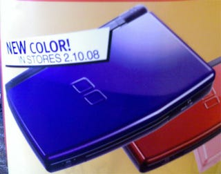 Illustration for article titled Blue Nintendo DS Coming February 10
