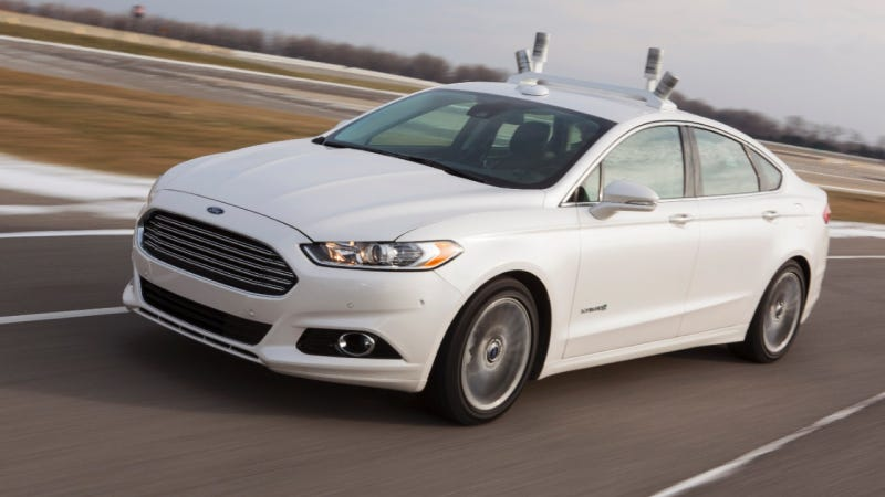 Illustration for article titled Ford Reveals Automated Fusion Hybrid Research Vehicle; Teams Up With University Of Michigan, State Farm