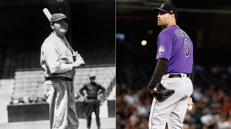 Illustration for article titled No Offense, But Adam Ottavino Would Make Babe Ruth Look Like A Sack Of Pig Assholes