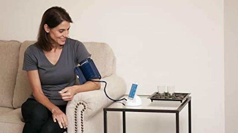 iHealth Ease Wireless Bluetooth Blood Pressure Monitor Cuff | $28 | Amazon | Promo code 2IT8Y489