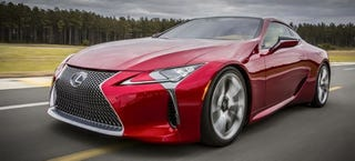Illustration for article titled Lexus LC: This Is It