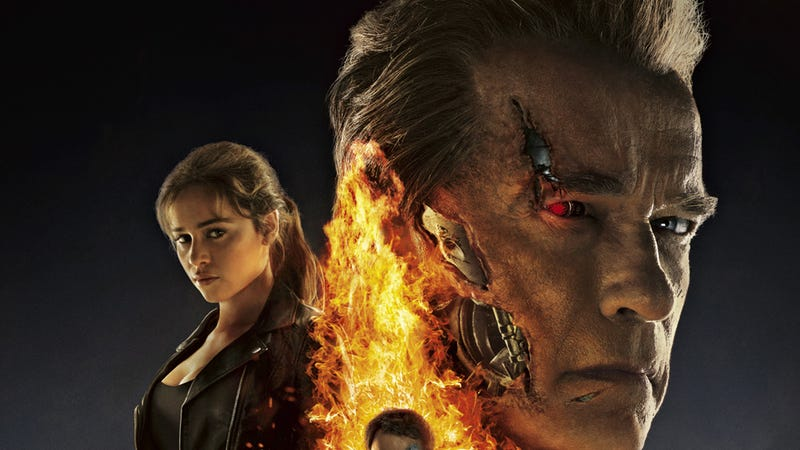 Illustration for article titled Arnold Somehow Saves Terminator Genisys From Being A Total Disaster