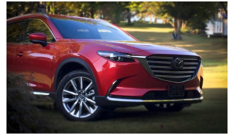 Illustration for article titled The Mazda CX-9 is the best looking SUV on sale today