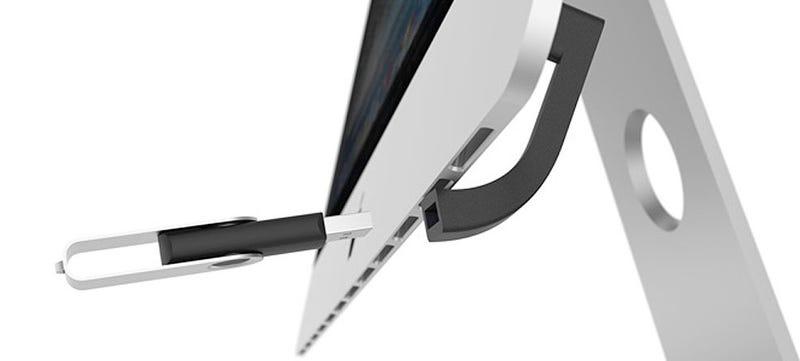 Illustration for article titled Jimi, un conector de diseño que soluciona un fallo típico de los iMac