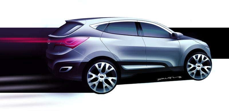 Illustration for article titled Hyundai HED-6 Concept: Zoom-Zoom?