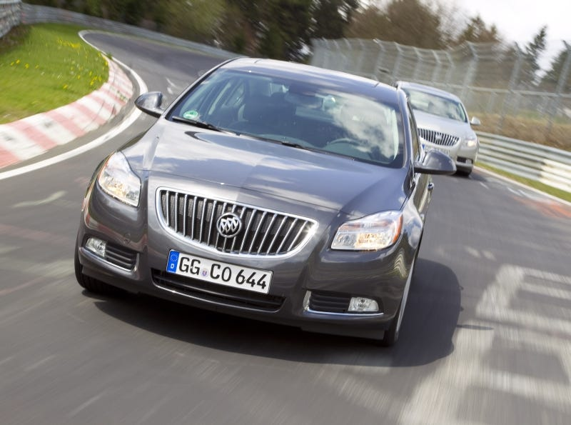 Illustration for article titled Driving The Nürburgring... In A Buick