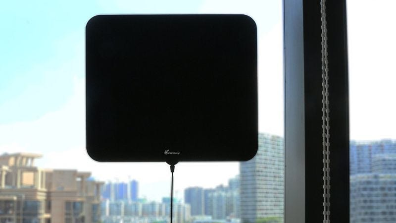 Vansky Amplified HDTV Antenna | $14 | Amazon | Promo code 3IX5Y4GD | Also available in Clear with the same code