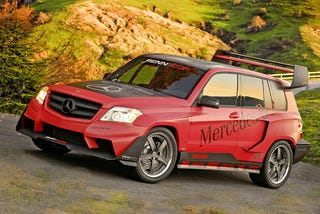Illustration for article titled RENNTech Wins Mercedes SEMA Tuner Build-Off With Rally-Inspired GLK