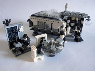 Illustration for article titled Bring Back Victorian Science with this Lego Lovelace, Babbage, and Analytical Engine
