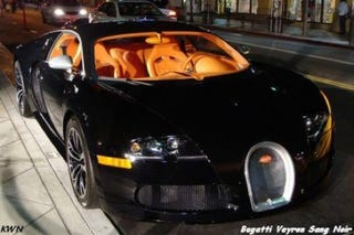 Illustration for article titled Bugatti Veyron Sang Noir Production To Be Limited To 15