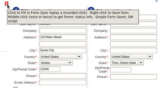 Illustration for article titled Save and Refill Any Web Form with a User Script