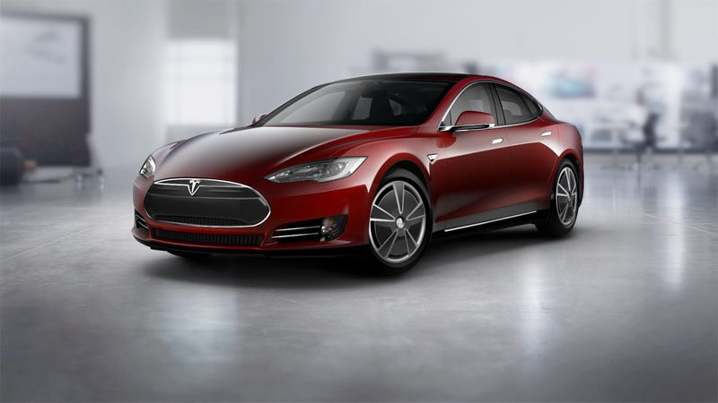 Illustration for article titled Things that you didn't know existed: Model S Aero Wheels