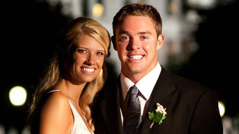 "Illustration for article titled Colt McCoy's Wife Says Texas Boosters Are Too Generous With Their ""Fishing Trips And Hunts, Here Or There"""