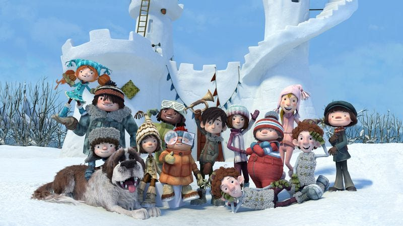 Illustration for article titled U.S. audiences won't get much out of the Canadian animated film Snowtime!