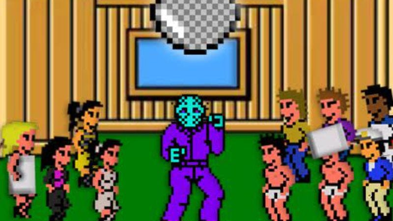 Illustration for article titled See an 8-bit Jason Voorhees dance under a disco ball in Videogram's latest video