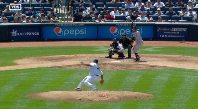 CC Sabathia Felled By Mighty Pitching Mound