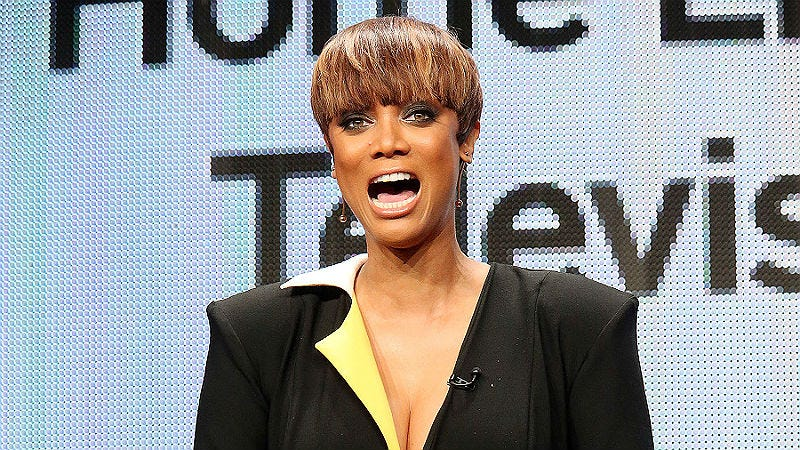 Illustration for article titled Tyra Banks Kinda Fired Herself FromFABLife,Her Daytime Talk Show