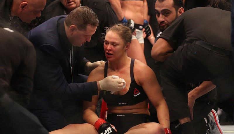 Illustration for article titled Ronda Rousey Hospitalized After Devastating Knockout