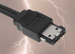 Illustration for article titled Self-Powered eSATA On the Way; Power Bricks Everywhere Shudder In Fear