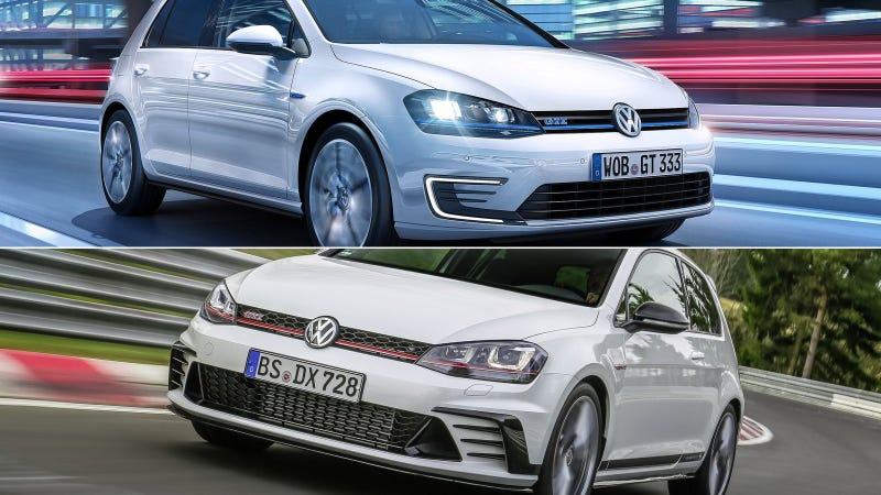 Illustration for article titled Which Comes First: An Electric-Only Volkswagen Golf or a 300 HP GTI?