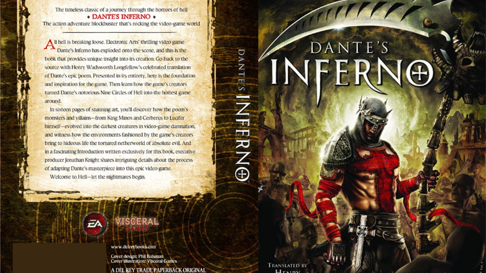 Dante S Inferno The Official Novelization Of The Book