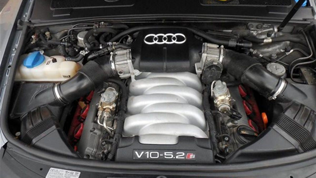 why buy a ford taurus when this ridiculous v10 audi s6 is way less?