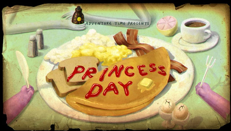 """Illustration for article titled Adventure Time Review - """"Princess Day"""""""
