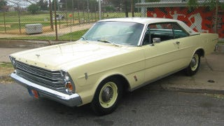 Illustration for article titled 1966 Galaxie 500 R code is one rare full size Ford