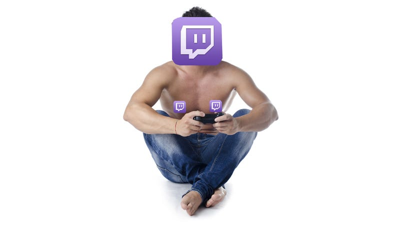 Illustration for article titled No More Getting Half-Naked On Stream, Twitch Says