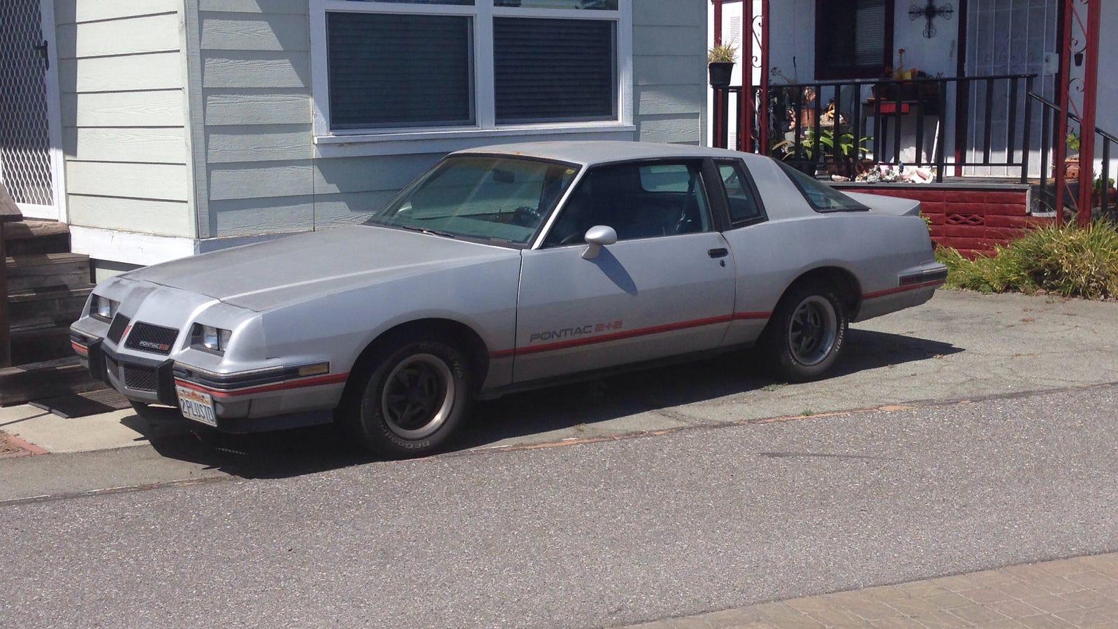 lost cool cars of silicon valley 1986 pontiac grand prix 2 2. Black Bedroom Furniture Sets. Home Design Ideas
