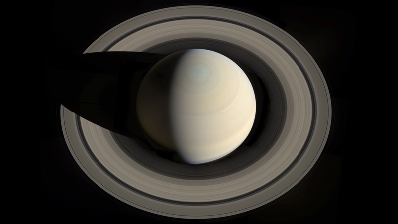 Illustration for article titled Putting an age on Saturn's ring system