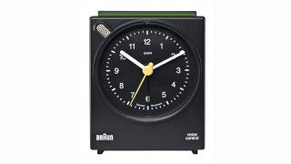 Illustration for article titled Daily Desired: You Can Tell This Beautiful Braun Alarm Clock to Shut Up on the Weekend