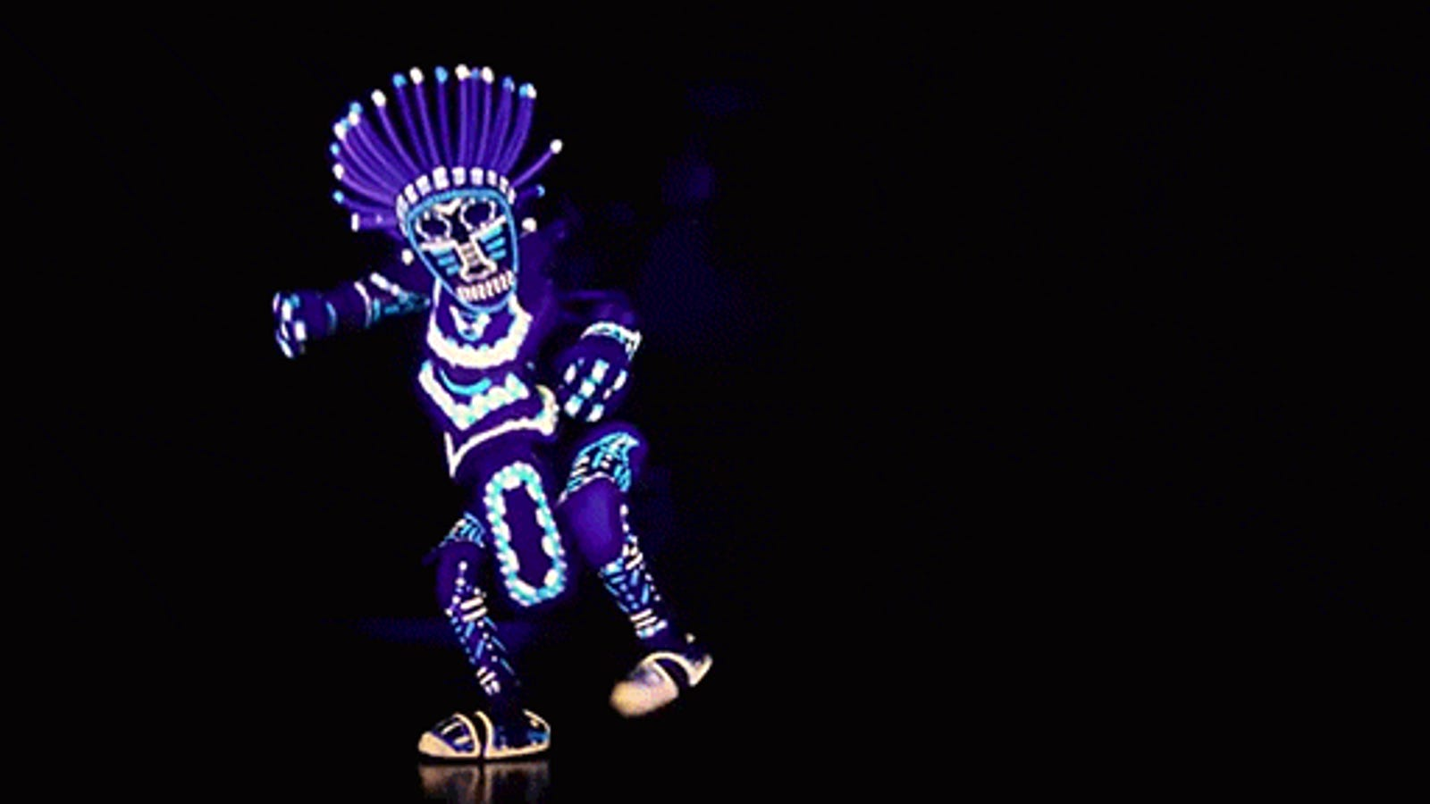 This Glow in the Dark Finger Puppet Dance Is Unreal