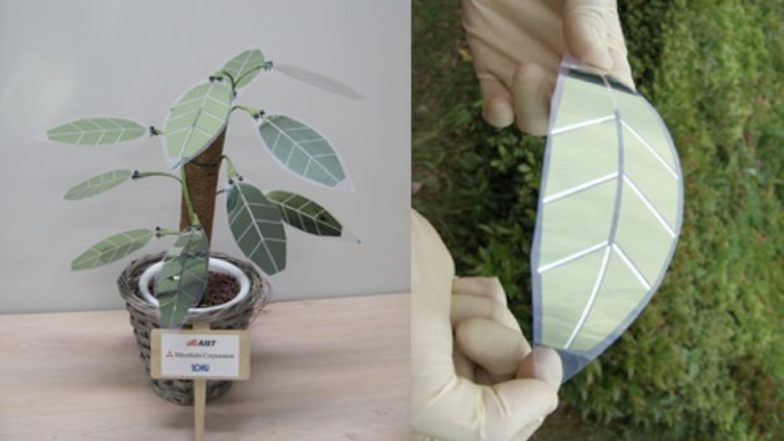 Flower Power to Solar Power: Artificial Plant has Solar ...