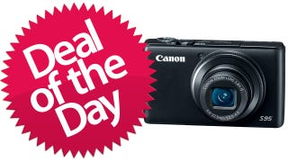 Illustration for article titled This Canon Powershot S95 Is Your Pointy-Shooter Deal of the Day