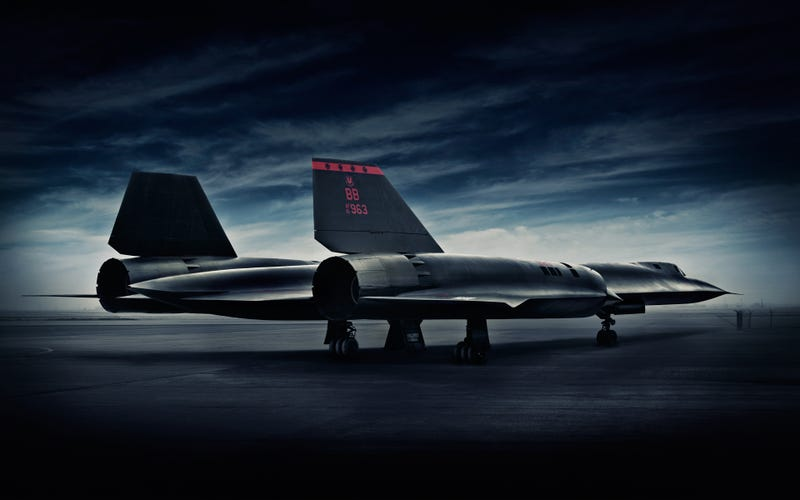 Blair Bunting Captures The Essence Of The SR-71 Blackbird In These Dramatic Photos