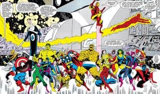 Illustration for article titled The Craziest Secrets Of Marvel's Original Secret Wars Comics