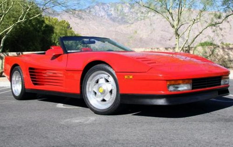 Illustration for article titled For $36,900, This 1989 Brillante Vendetta Is Your Testarvette