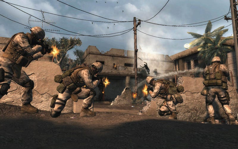 Illustration for article titled Modern Games Struggle With Modern Warfare