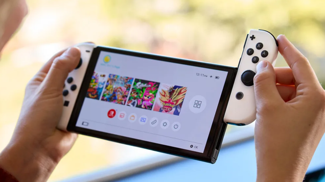Nintendo s New OLED Switch Is Real and It Arrives on October 8