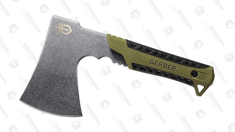 Gerber Pack Hatchet Camping Axe, Sage Green | $26 | Amazon