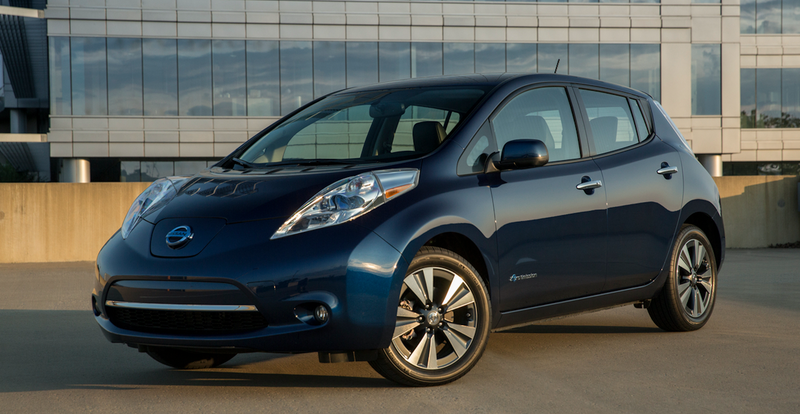 The 2016 Nissan Leaf. According to reports, the 2018 version of this car will be the platform for future electric vehicles from Nissan, Mitsubishi and Renault. Image via Nissan