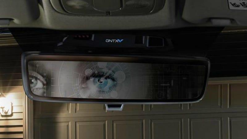 Illustration for article titled Dystopian Rearview Mirrors Will Remember You With an Iris Scan