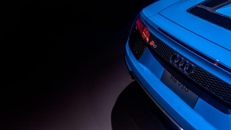Illustration for article titled Audi R8 V10 at NAIAS