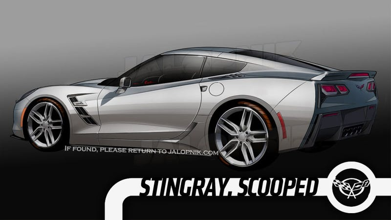Illustration for article titled How GM Confirmed We Scooped The New Corvette 13 Months Early