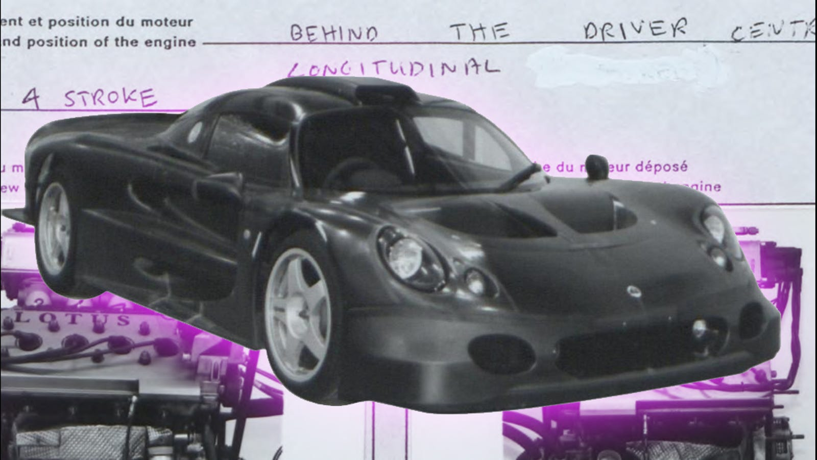 84b04b05283f The Most Charming GT1 Car Ever Made Was This Little Lotus