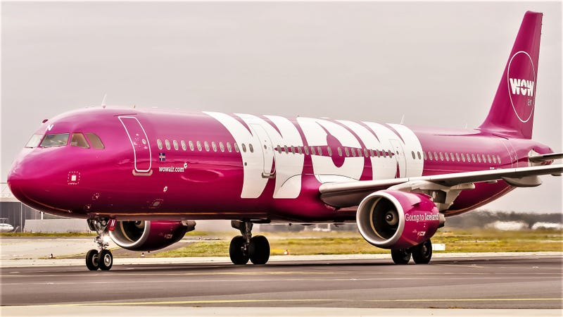 "WOW Air, as in ""WOW, we actually made it!"" Photo by Oliver Holzbauer."