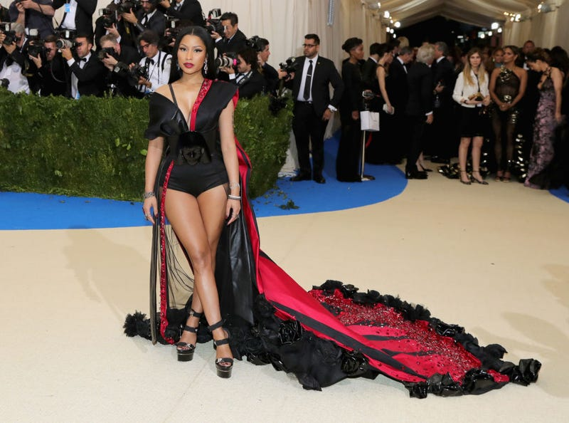 Nicki Minaj attends Costume Institute Gala at the Metropolitan Museum of Art on May 1, 2017, in New York City. (Neilson Barnard/Getty Images)